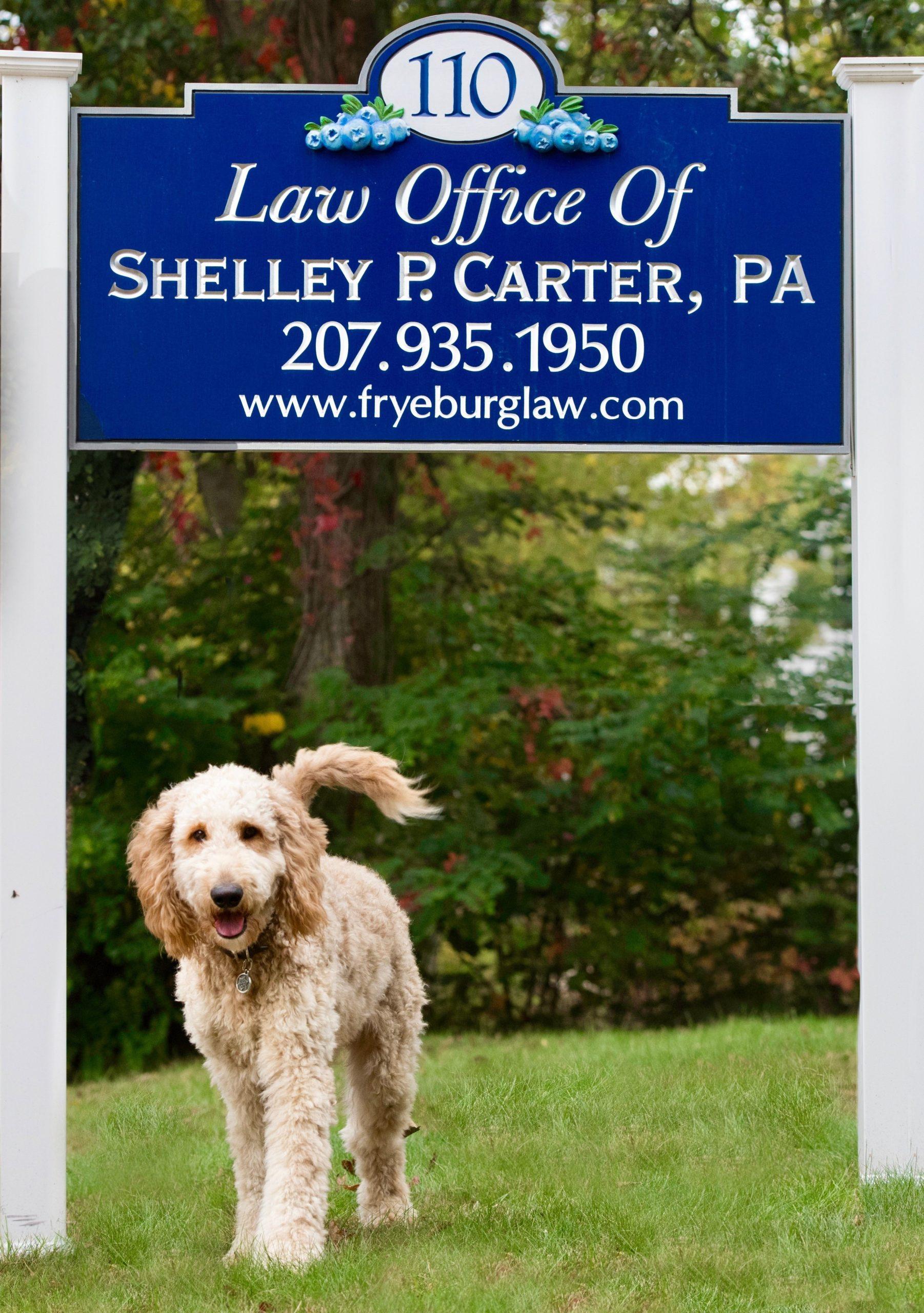 Baxter's business card